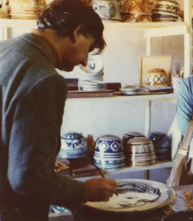 Patrick Swift Painting Ceramics