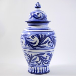 Cobalt Blue Jar