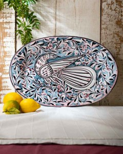 Large Oval Platter by Juliet Swift