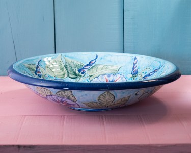 Wide Bowl by Estella Swift Goldmann